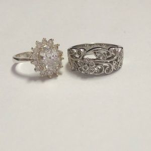Any 2 Rings for $10 Silver Rings